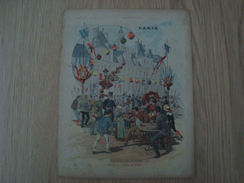 COUVERTURE DE CAHIER PARIS PLACE DE L'HOTEL DE VILLE - Book Covers
