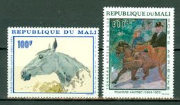 Mali 1937  Yv PA 51/52** Toulouse Lautrec  MNH - Mali (1959-...)