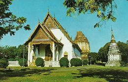Thailandia (North Thailand) Wat Chedee Luang In The Midst Of Chiengmai City - Tailandia