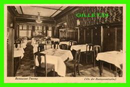 AMSTERDAM, PAY BAS - RESTAURANT DORRIUS - DINNING ROOM -  FOTO, S. SEALTIEL - - Amsterdam