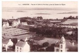 ARRADON - Vue Sur Le Golfe Du Morbihan Prise Du Clocher De L' Eglise - Arradon