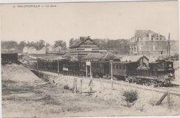 PHILIPPEVILLE   LA  GARE - Philippeville