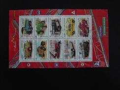 FRANCE   BLOC   N° 63  VEHICULES UTILITAIRES 2003   OBLITERE - Oblitérés