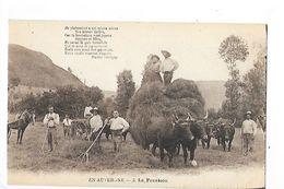 En Auvergne - LA  FENAISON -   - L 1 - Auvergne Types D'Auvergne