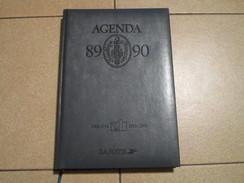 AGENDA Du Bicentenaire - Du 03 Juillet 1989 Au 31 Décembre 1990 - Edition De LA POSTE Bien Documentée - Big : 1981-90