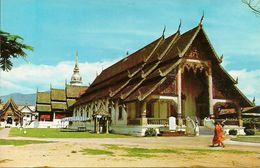 Thailandia (North Thailand) Wat (temple) Phra Singh At Chiengmai - Tailandia