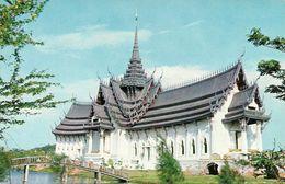 Thailandia (Thailand) Viharn Sri Sanphet In Ayudhya Province, Model Of Ancient City, Bangpoo Near Bangkok - Tailandia