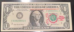 STATI UNITI - TRACK THIS BILL AT .............1 $ - GEORGE WASHINGTON - CURIOSITA' - ORIGINALE - United States Of America