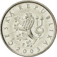 République Tchèque, Koruna, 2003, TTB, Nickel Plated Steel, KM:7 - Tchéquie