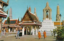 Thailandia (Thailand) Bangkok, Inside The Grounds Of Wat Phra Keo (Emerald Buddha Temple) - Tailandia
