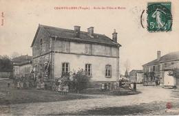 CRAINVILLIERS : (88) Ecole Des Filles Et Mairie - France