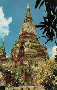 Thailandia (Thailand) Chedee In The Compound Of Wat YaiChai Mongkhol (also Called Wat Chao Phaya Thai) - Tailandia