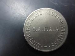 Jeton S.A.F.A.A  DE DISTRIBUTEUR AUTOMATIQUE - Professionnels / De Société