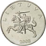 Lithuania, Litas, 2008, TTB+, Copper-nickel, KM:111 - Lithuania