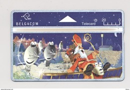 BELGIUM Phonecard BELGACOM Telecard Telephone Card Christmas Santa - Belgium
