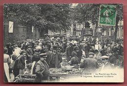 Caen - Le Marché Aux Fruits Et Légumes, Boulevard St-Pierre - Caen