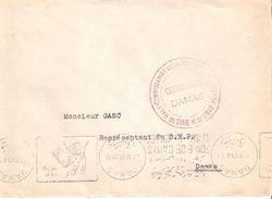 LETTRE CHANCELLERIE DAMAS HAUT COMMISSARIAT SYRIE LIBAN 1935 - Levant (1885-1946)