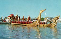Thailandia (Thailand) Bangkok, The Supannahongse And Ananta-na-garaj, Thai Royal State Barge - Tailandia