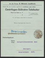"""Mi-Nr. P80, Kpl. Doppelkarte Mit Zudruck """"G. Maisch, Leutkirch2, Bedarf 29.7.15, O - Deutschland"""