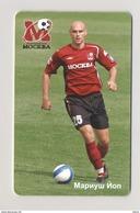 MARIUSZ JOP - FOOTBALL - SPORT - SOCCER RUSSIA Moscow Phonecard Telecard Chip Card 600 Units - Sport