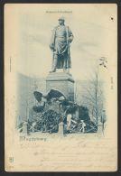 """Mi-Nr. PP19 F 70/04, """"Magdeburg"""" Bismarck-Denkmal, 1903 Mit Zusatzfr. Gelaufen,o - Deutschland"""