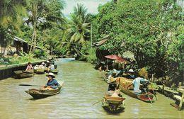 Thailandia (Thailand) Thai Boat-Vendors In Canals (Khulong) - Tailandia