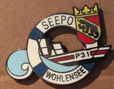 POLICE BERNOISE SEEPO - WOHLENSEE  - BERNER POLIZEI - SUISSE - COP SWISS - SCHWEIZ - BERNE - BERN - OURS - BÄR  - (19) - Police