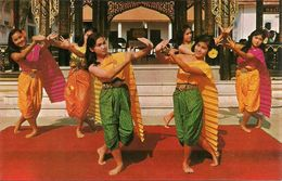 "Thailandia (Thailand) Dancing Called ""Ram - Seeda"" Performed By Thai-Girls - Tailandia"