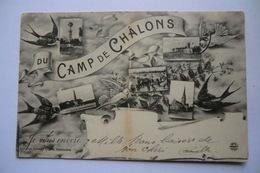 CPA 51 MARNE CHALONS SUR MARNE. Camp De Châlons. 1910. - Camp De Châlons - Mourmelon