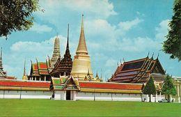 Thailandia (Thailand) Bangkok, View Of The Back Of Wat Phra Keo - Tailandia