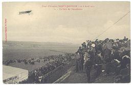 Cpa Nancy Jarville - Fête D'Aviation 1912 - Un Coin De L'Aérodrome - Nancy