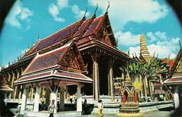 Thailandia (Thailand) Bangkok, A Part Of Wat Phra Keo (Temple Of Emerald Buddha) - Tailandia