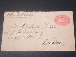 GUATEMALA - Entier Postal De Pochuta Pour Londres En 1893 - L 11324 - Guatemala