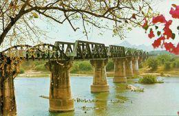 Thailandia (Thailand) Dead - Railways - Bridge Crossing River Kawai In Kanchanaburi Province - Tailandia