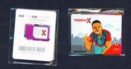 GHANA  -  Vodaphone  Unused SIM Phonecard  In Pack  As Scans - Ghana