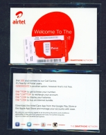 GHANA  -  Airtel  Unused SIM Phonecard  In Pack  As Scans - Ghana