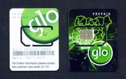 NIGERIA  -  Glo  Unused SIM Phonecard  As Scan - Nigeria