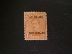 Deutschland Allemagne Germany GERMANIA Belgian Occ. Of German 1919 TIMBRES DU BELGIQUE 1915-1920 OVERPRINTED MNG - Zona Belga