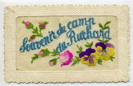 37 - Souvenir Du Camp Du Ruchard: Carte Brodée - Autres Communes