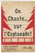 BOURGOIN - Saint Savin - On Chante Sur L'esplanade - Marc Perry - Lou Dauphinois - Carapia - Prisonniers Guerre - Non Classés