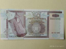 50 Francs 1993-97 - Burundi