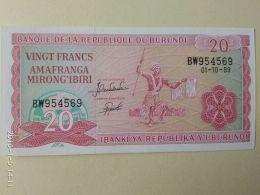 20 Francs 2005 - Burundi