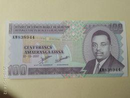 100 Francs 2007 - Burundi