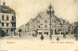 MAGDEBURG      LUDOLF -- Und  GUSTAV  ADOLFSTRASSE   Voire Les Deux Scans - Magdeburg