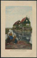 1915 Belgium WW1 Gemany Postcard K.D. Feldpost Marine Korps Fieldpost - WW I