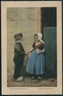 1915 Belgium WW1 Gemany Postcard K.D. Feldpost Marine Korps Fieldpost - Unclassified