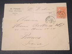 HAITI - Enveloppe De Cap Haitien Pour La France En 1907 - L 11334 - Haïti