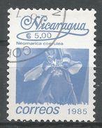 Nicaragua 1986. Scott #1522 (U) Neomarica Coerulea, Fleurs, Flowers - Nicaragua