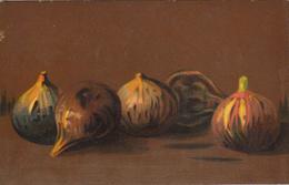 Thématiques Illustrateur Carte Postale Peinture Fruit Serie Artistica Velluto Figue - Illustratori & Fotografie