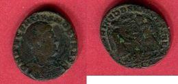DECENCE   LYON   (C 34  RIC  137  ) TB 14 - 7. L'Empire Chrétien (307 à 363)